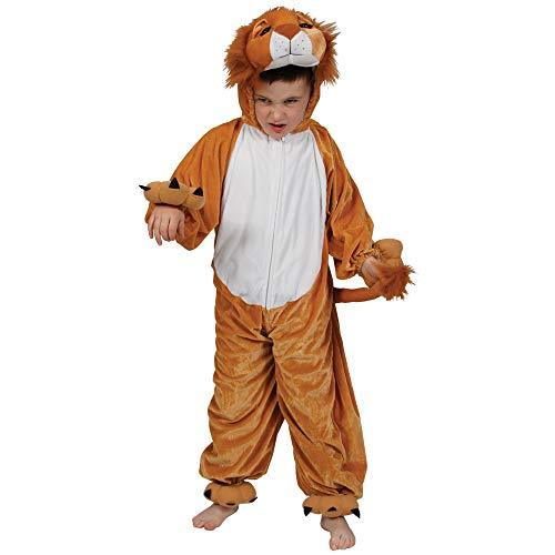 Kids Lion Animal Fancy Dress Jungle Costume