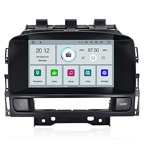 ZWNAV 2 Din Carplay per Opel Vauxhall Holden Astra J 2010-2013 CD300 CD400 Android 10 Lettore multimediale Video per auto Ricevitore radio GPS Navigatore Unità principale Auto Stereo (PX6 64G DSP)