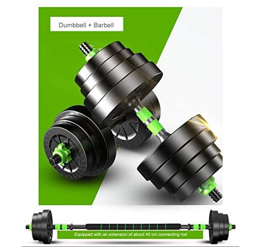 Hanteln Verstellbar, Kurzhanteln Set Langhantel-fitnessgeräte Für Home Gewichte Metall-PVC-fitness- Muskelkörper-trainingsübungen,5kg*2