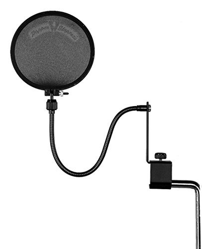 Shure PS-6 Popper Stopper Pop Filter with Metal Gooseneck and Heavy Duty...