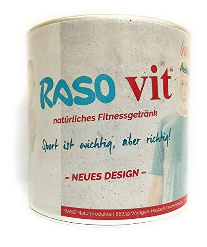 Fitness Suppe 400g ca. 10L - BEWÄRTES RASO Suppen Rezept seit 1985 - kalorienarme Suppen zum abnehmen für ihre Suppendiät von RASO ohne chemische Zusätze - auch zum Fasten