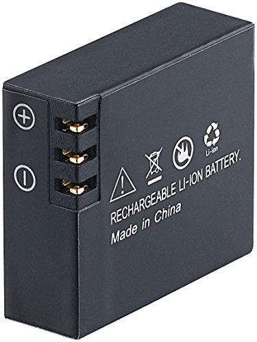 Somikon Zubehör zu 4K Action Cam: Li-Ion-Akku für DV-4017.WiFi, DV-3217.WiFi & DV-1212 V2, 3,7V, 1050mAh (Action-Cam-Kamera)