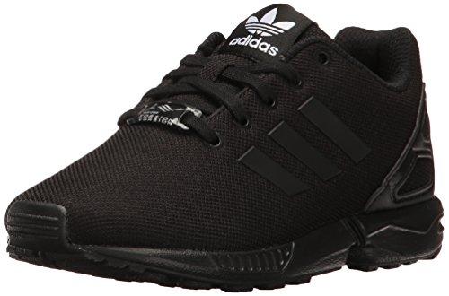 adidas Originals Kids Unisex's ZX Flux Running Shoe, Black/Black/Black, 13.5 M US Little Kid