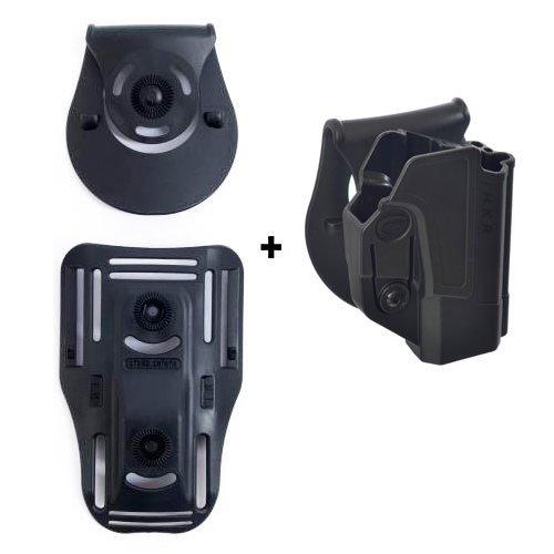 H /& K USP 9/mm y H /& K USP 45/ tama/ño completo solamente retenci/ón roto rotaci/ón Tactical Holster con Tention Ajustment para Heckler /& Koch H /& K USP 45 orpaz defensa Lowride cintur/ón