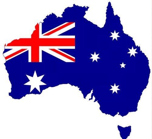 Auto Aufkleber Australien