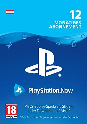PlayStation Now - Abonnement 12 Monate (österreichisches Konto) | PS4 Download Code - österreichisches Konto