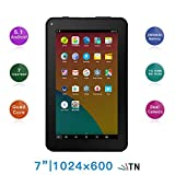 Haehne 7' Tablet PC - Google Android 5.1 Quad Core, 1G RAM 8GB ROM, Cámaras Duales 2.0MP + 0.3MP,...