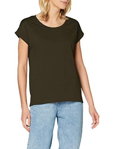 Vila Damen VIDREAMERS Pure NOOS T-Shirt, Forest Night, S