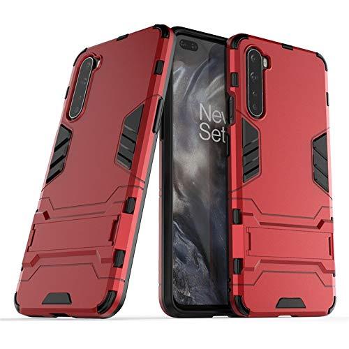 HHF-1 1fortunate Cajas del teléfono para OnePlus Nord, Caja de Armadura de Doble Capa PC Armadura de Goma Cubierta Trasera Dura para OnePlus 3T 5 5T 7 7T 8 Pro Z Nord