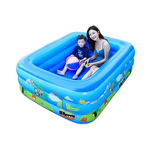 HLZY Piscina Infantil Familiar Planta Piscina Inflable Parque for niños y Adultos de Deportes acuáticos Verano Centro Familiar Salón Paradise