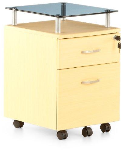Buerostuhl24 673809 Ekon Plus Cassettiera con rotelle in acero