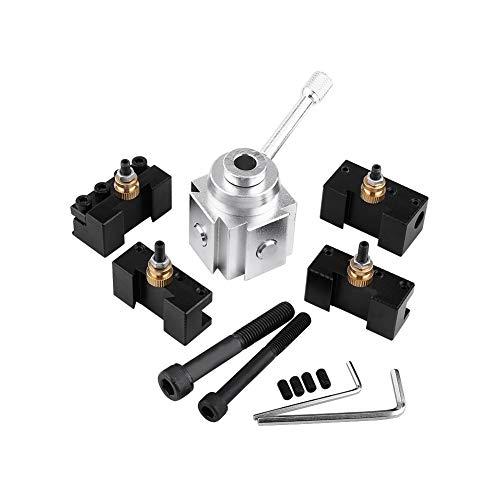 Werkzeughalter - Satz Aluminium-Schnellwechsel-Mini-Drehbank-Werkzeughalter und Halter-Kit