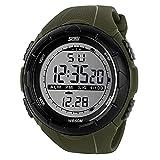 ZXMD. Orologio da uomo Abbigliamento Sport Sport Vigilanza Allarme Antiurto Impermeabile Orologio digitale (Grün : Green)