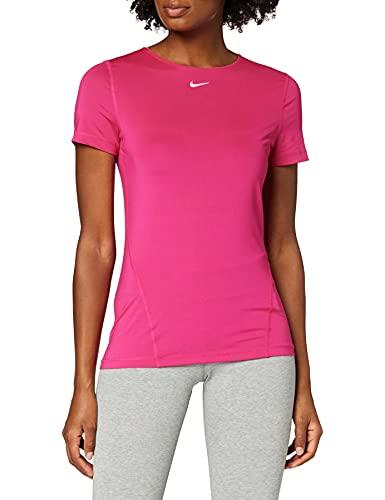 Nike All Over Mesh T-Shirt Fireberry/White S