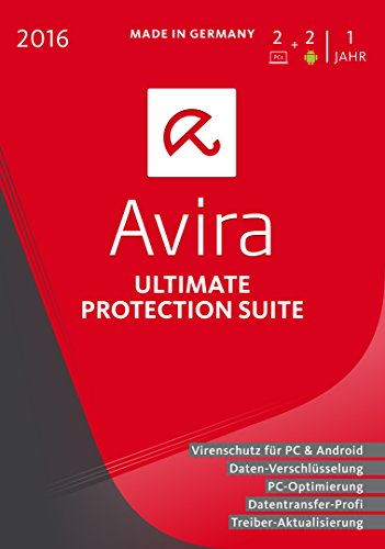 Avira Ultimate Protection Suite 2016 - 2 Geräte / 1 Jahr