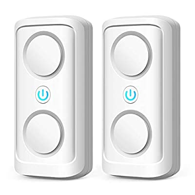 Ultrasonic Pest Repeller, 2020 Electronic Pest Repellent Plug in Indoor Pest Control for Flea, Insects, Mosquitoes Mice, Spiders, Ants, Rats, Roaches, Bugs, Human and Pet Safe (2 Pack)