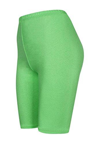 DeDavide Shorts Cyclisme, Vert Clair, XL