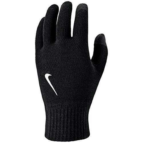 Nike Unisex – Erwachsene Knitted Tech and Grip Handschuhe, Black/White, L/XL