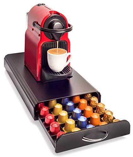Cobb Industries - Zeus CH0017 - Cassetto portaoggetti per capsule Nespresso, capacità 50 capsule Porta Capsule