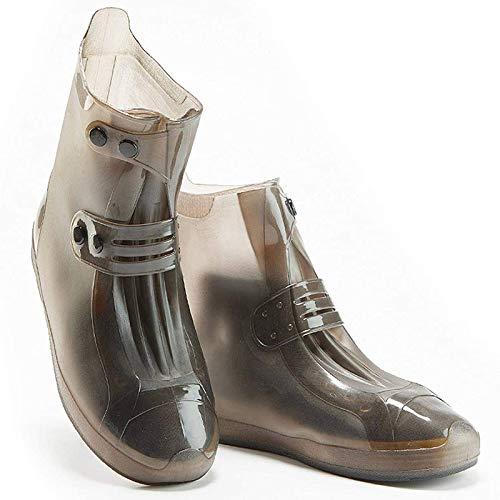 NXM Überschuhe Schuhe Abdeckung Silikon Regenüberschuhe Regenschutz Wasserdicht Flache Regen Überziehschuhe Schuhüberzieher Rutschfester Silikon-Schuhüberzug Radsportschuhe,XXXL siz 44/45 Shoes