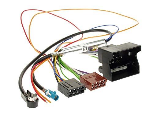 ACV 1230–45Cablaggio autoradio a norme ISO con alimentatore phantom multicolore