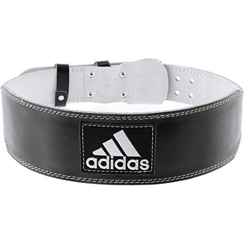 Reebok Adidas–Cinturón de Halterofilia, Negro, XX-Large
