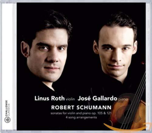 SONATAS FOR VIOLIN AND PIANO OP. 105 & 121 - 4 SON