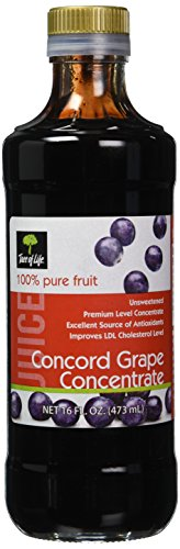 Life Tree Juice Concentrate, Unsweetened Grape, 16...