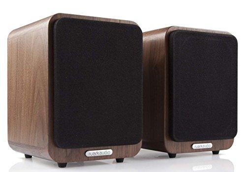 Ruark Audio MR1 Walnuss - Lautsprecher (1-Weg, 2.0 Kanäle, Kabellos, Bluetooth, Walnuss)
