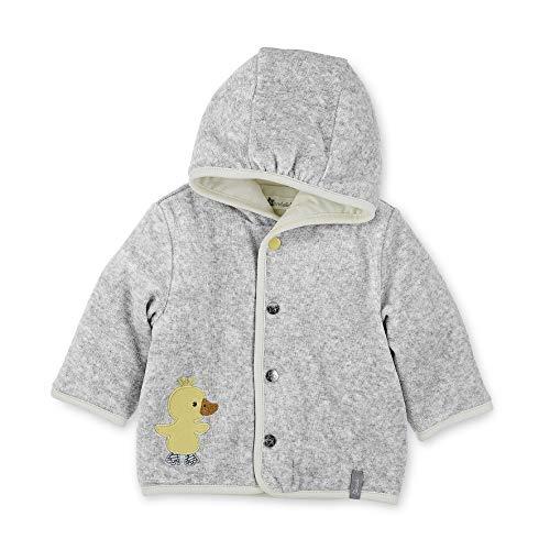 Sterntaler Kapuzen-Jacke Nicki Edda für Babys, Größe: 56, Farbe: Grau