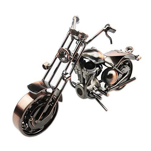 Hancoc Bronze Simulation Motorrad Modell Hause Wohnzimmer Büro Dekoration Eisen Handwerk Kreative Geschenke