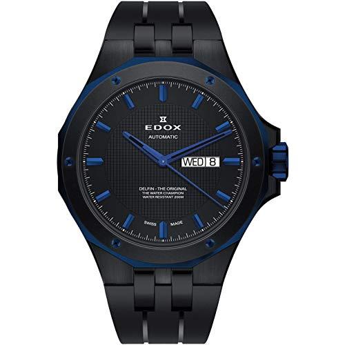 Edox Delfin The Original Reloj de Hombre automático 43mm 88005 357BUNCA NIBU