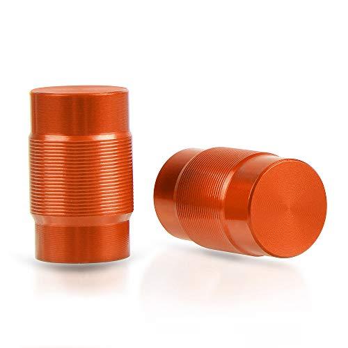 Universal MotoTapones de Válvula para Neumáticos For KTM Duke 125 200 250 390 690 790 890R RC 125 200 250 390 950 990 1050 1190 1290 Adventure-Naranja