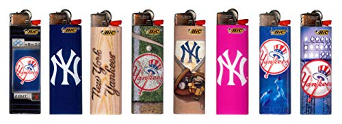 BIC New York Lighters MLB Officially Licensed (8pk)