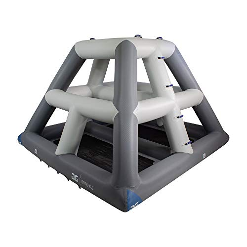 AQUAGLIDE Spire 6.8 - Floating Climbing Tower AquaPark Accessory, Multicolor, 40.55118110236221