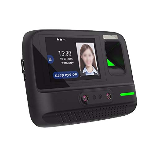 YBWEN Machine de présence Visage d'empreintes digitales Mot de Passe Reconnaissance La fréquentation Machine WiFi Connexion des employés Vérification dans Recorder Scanners Carte de Visite
