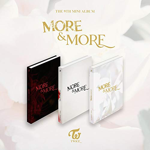 Twice More and More 9th Mini Album (inkl. Vorbestell-Vorteile: Poster, Fotokarten-Set, Verkäufer-Geschenk: Eine zufällige Acryl-Fotokarte, Version B, Folded Poster, Photocard Set