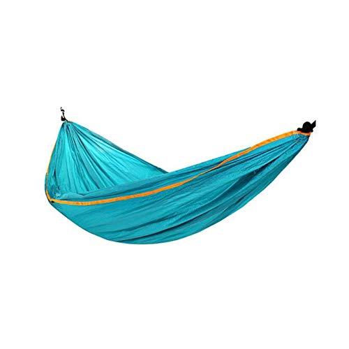 KOREY Hamaca Portátil De Nylon con Doble Refuerzo, Ideal para Dormir Al Aire Libre, Camping, Excursión,Hamaca Ultraligera para Camping,Ultranatura Hamaca