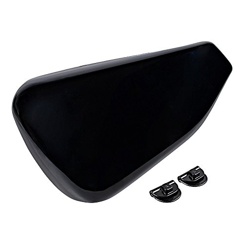 Black Left Side Battery Cover Compatible with 2014-2020 Harley Sportster 883 1200 48 72 Models (Gloss)