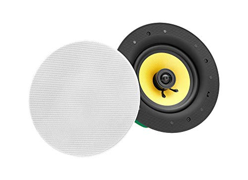Pronomic CLS high-end weefsel luidspreker - 2-weg coaxiale plafond luidspreker box - met of zonder Bluetooth - 5,5
