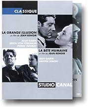 Studiocanal classique - La Grande illusion & La Bête humaine [Francia] [DVD]