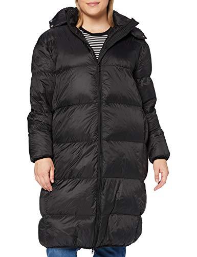 Sparkz Damen Mantel Pretty Puff Long Coat, Schwarz (Black 099), XL
