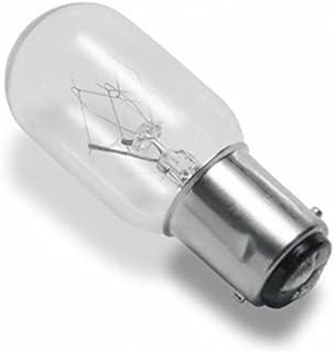 Clar-leuci - Lámpara incandescente tubular especial clara 15w 220v ba15d