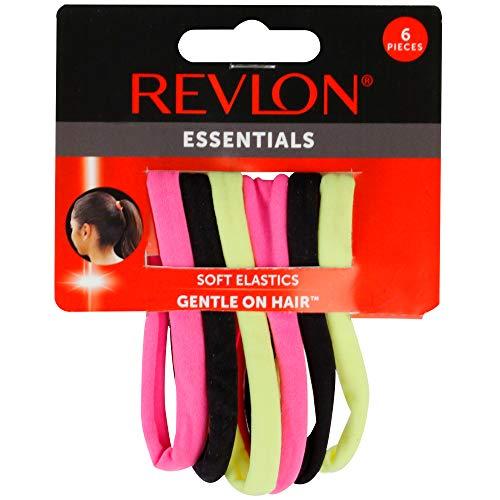 Revlon Essentials 6 Piece Soft Touch Hair Elastics