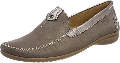Gabor Shoes Damen Comfort Basic Slipper, Braun (Fumo/Argento), 37.5 EU