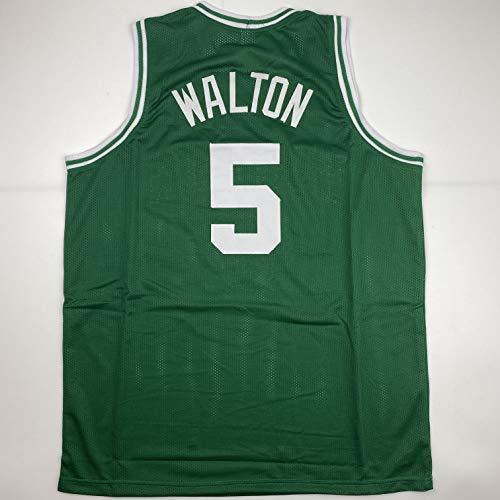 Unsigned Bill Walton Boston Green Custom Stitched Basketball Jersey Size Men's XL New No Brands/Logos
