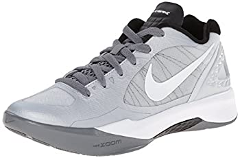 Nike Women s Volley Zoom Hyperspike Pure Platinum/Cool Grey/White Volleyball Shoes - 7.5 B M  US