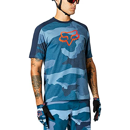 Fox Ranger Dr Ss Jersey Blue Camo 360 L