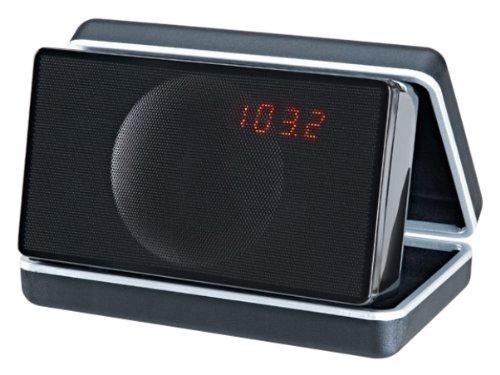 Geneva Lab XS 12W Schwarz - Tragbare Lautsprecher (2,54 cm, 12 W, 80-20000 Hz, Kabellos, A2DP, Schwarz)