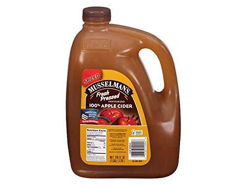 Musselman's Spiced Fresh Pressed Cider, 128 oz. ( 1 pack )